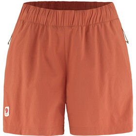 Fjällräven High Coast Relaxed Shorts Women, rowan red